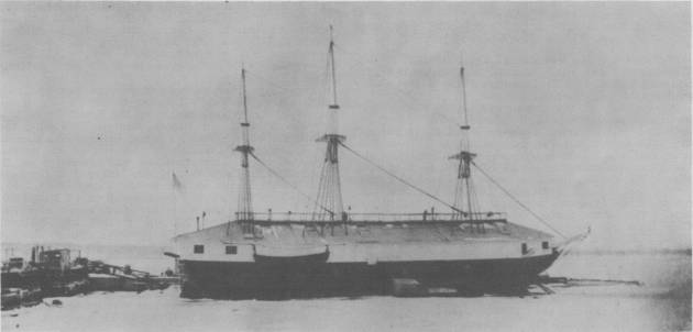 USS St Louis Union Ship