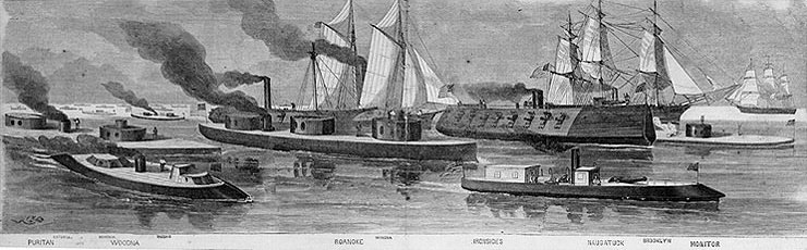 US Navy Civil War Gunboats