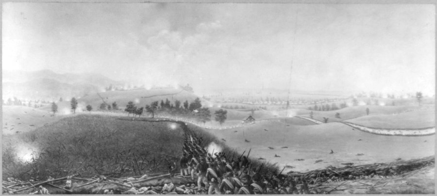 Battle of Antietam at Sharpsburg Maryland American Civil War
