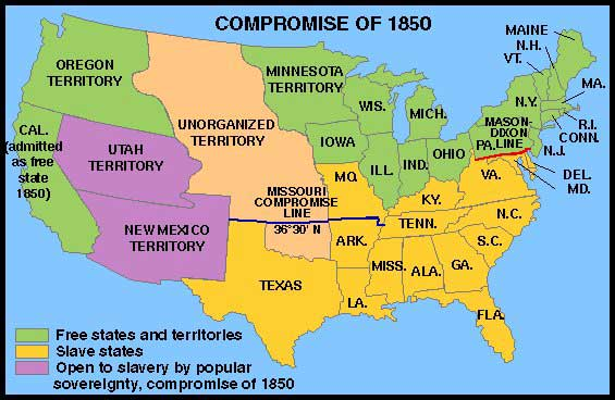 The Slavery Compromise of 1850