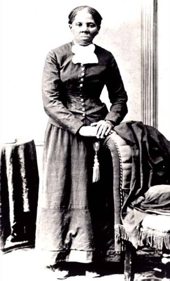 Harriet Tubman conductor on the Underground Railroad