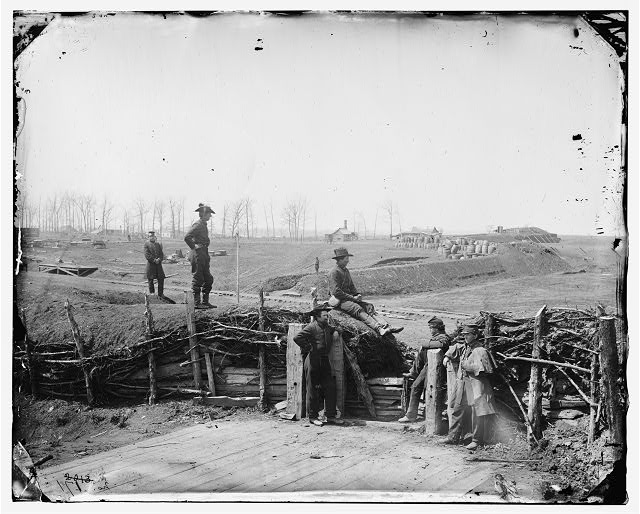 confederate fortifications Manassas
