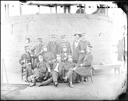 USS Monitor Officer Picture