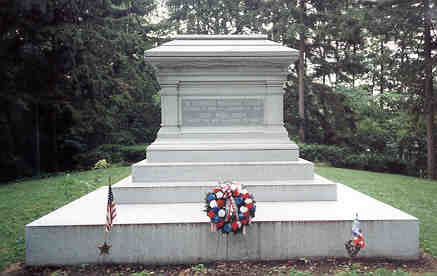Presudent Hayes Grave Site