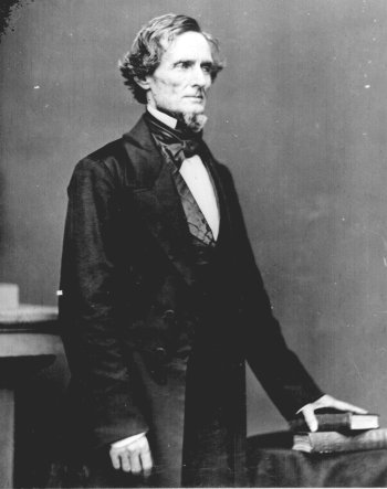 Confederate President Jefferson Daviis