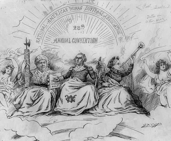 Elizabeth stanton and susan b anthonys contribution on the equality on women today